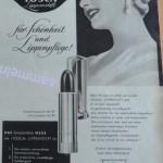 """Frühe Reklame von Muelhens 4711 für das Produkt """"Tosca"""""""