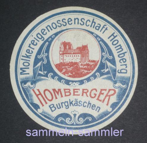 Ephemera, Etikette von Käse
