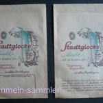 Verpackung für 5 Stadtglocke-Zigarren, 60er Jahre