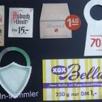 Verschiedene Preisschilder, 60er Jahre