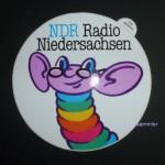 Aufkleber des NDR Radio Niedersachsen