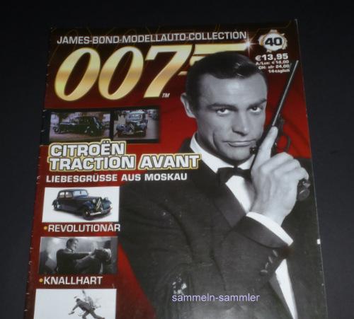 James Bond in Liebesgrüße aus Moskau