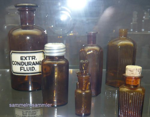 Glasflaschen Apothekerflaschen