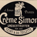 Creme Simon für den Teint 1920