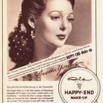Happy End Make-up um 1950