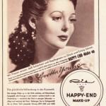 Happy End Make-up um 1950