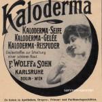Kaloderma um 1910