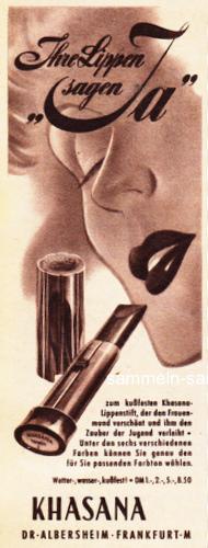 Khasana Lippenstift