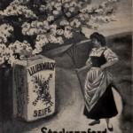 Lilienmilchseife um 1910