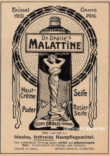 Malattine Make-up Hautpflegemittel