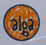 Emblem der Firma Ab Alga