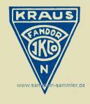 Markenzeichen von Kraus & Co Fandor