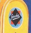 Markung der Firma Gescha, vor 1945