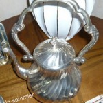 Kaffeekanne aus Silber