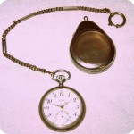 Taschenuhr aus Silber