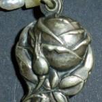 Verschluss einer Kette aus Silber