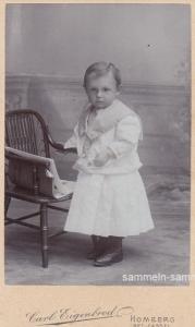 Visitkarte kleiner Junge