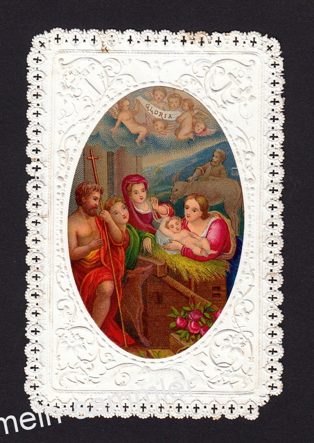Eines der schönen Spitzenbilder aus der Gründerzeit, Spitzenbild von 1878
