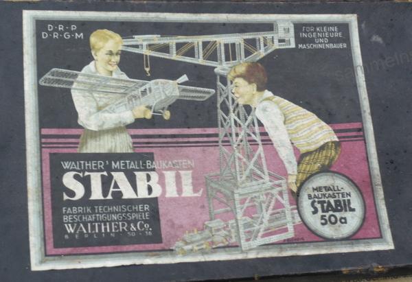 Stabil Metallbaukasten