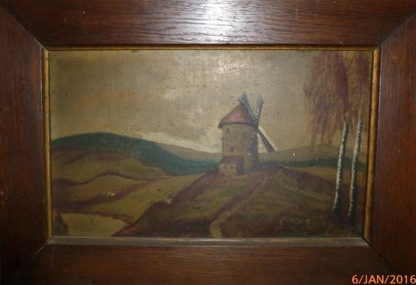 Gemälde vom Flohmarkt
