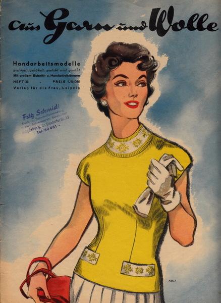 Modezeitschriften der DDR