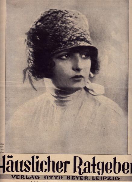 Modezeitschrift Häuslicher Ratgeber von 1926