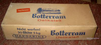 Alte Verpackung von Botteram
