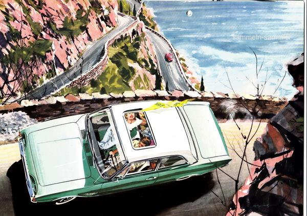 Ford 17m im Gebirge