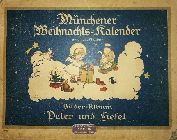 Weihnachtskalender 20er Jahre