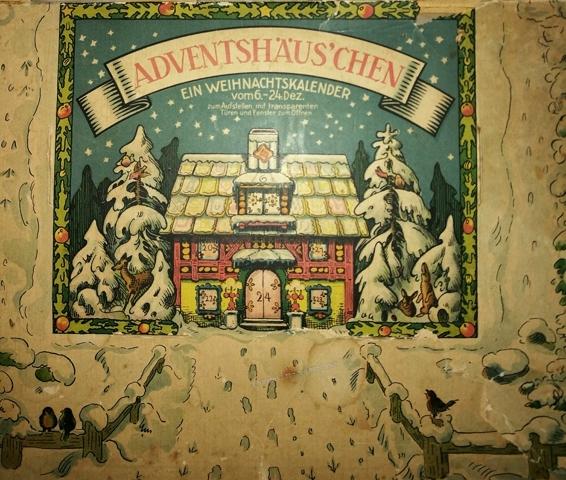 Weihnachtskalenderkalender 20er Jahre