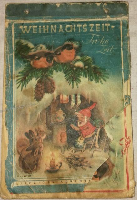 Leipziger Adventskalender 20er Jahre