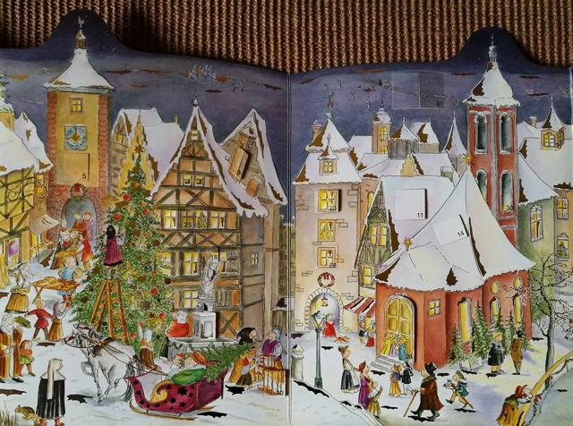 adventskalender weihnachtskalender sammelgebiet. Black Bedroom Furniture Sets. Home Design Ideas