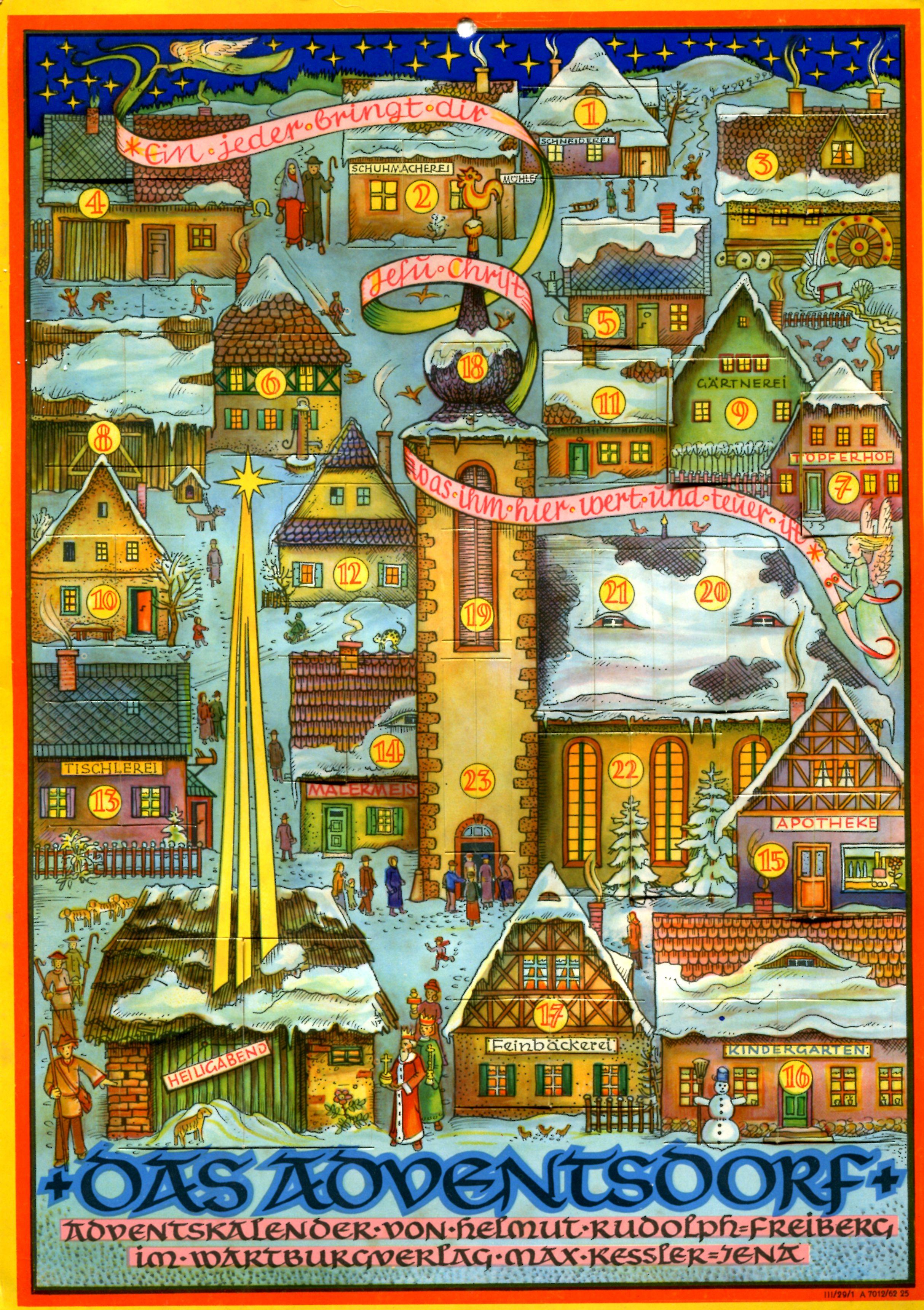 Adventskalender Helmut Rudolph