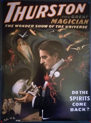 Poster für Zauberveranstaltung