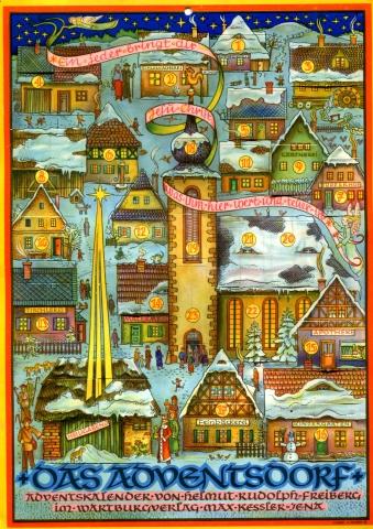 Adventskalender DDR 1962
