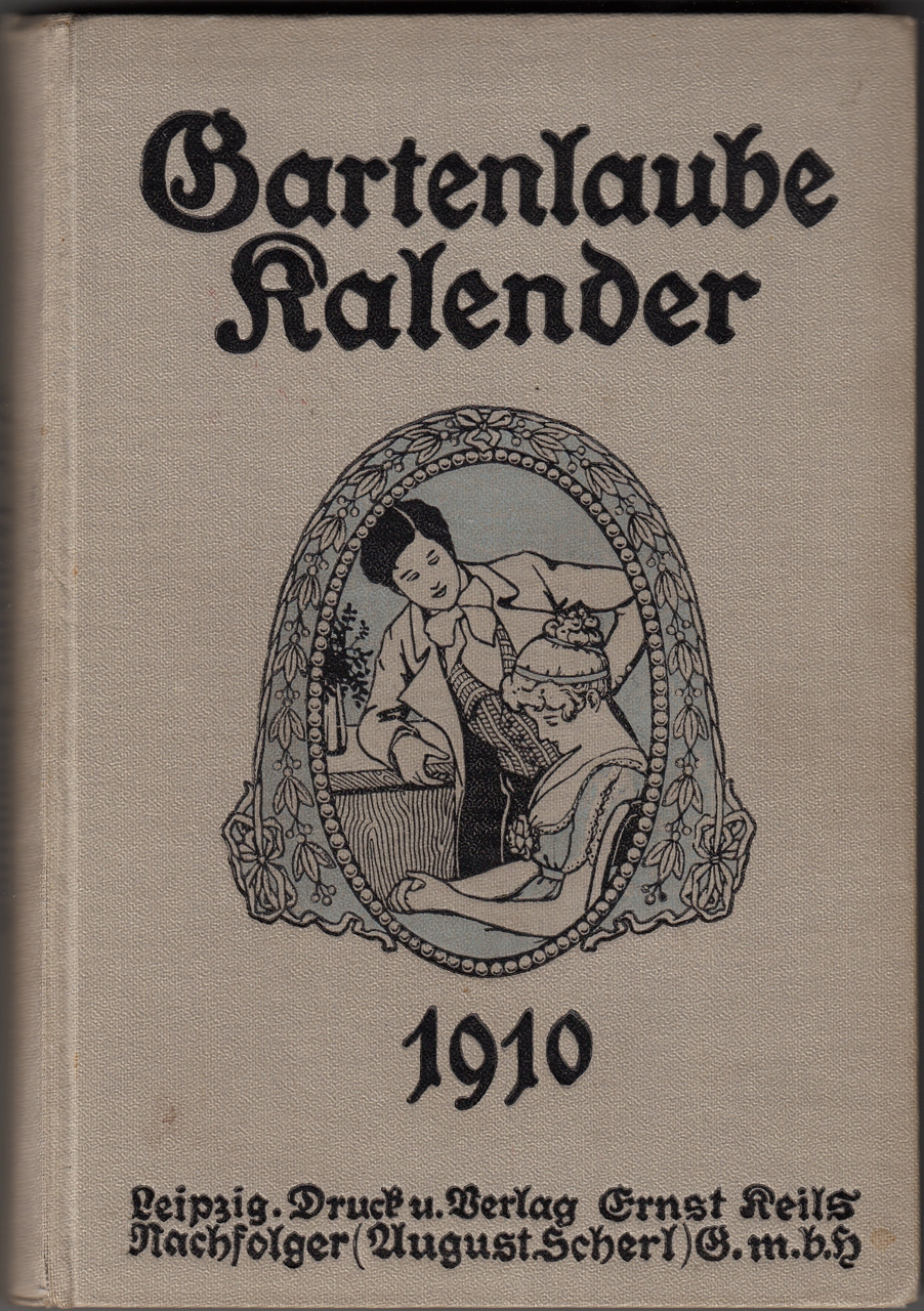 Gartenlaube Kalender 1909
