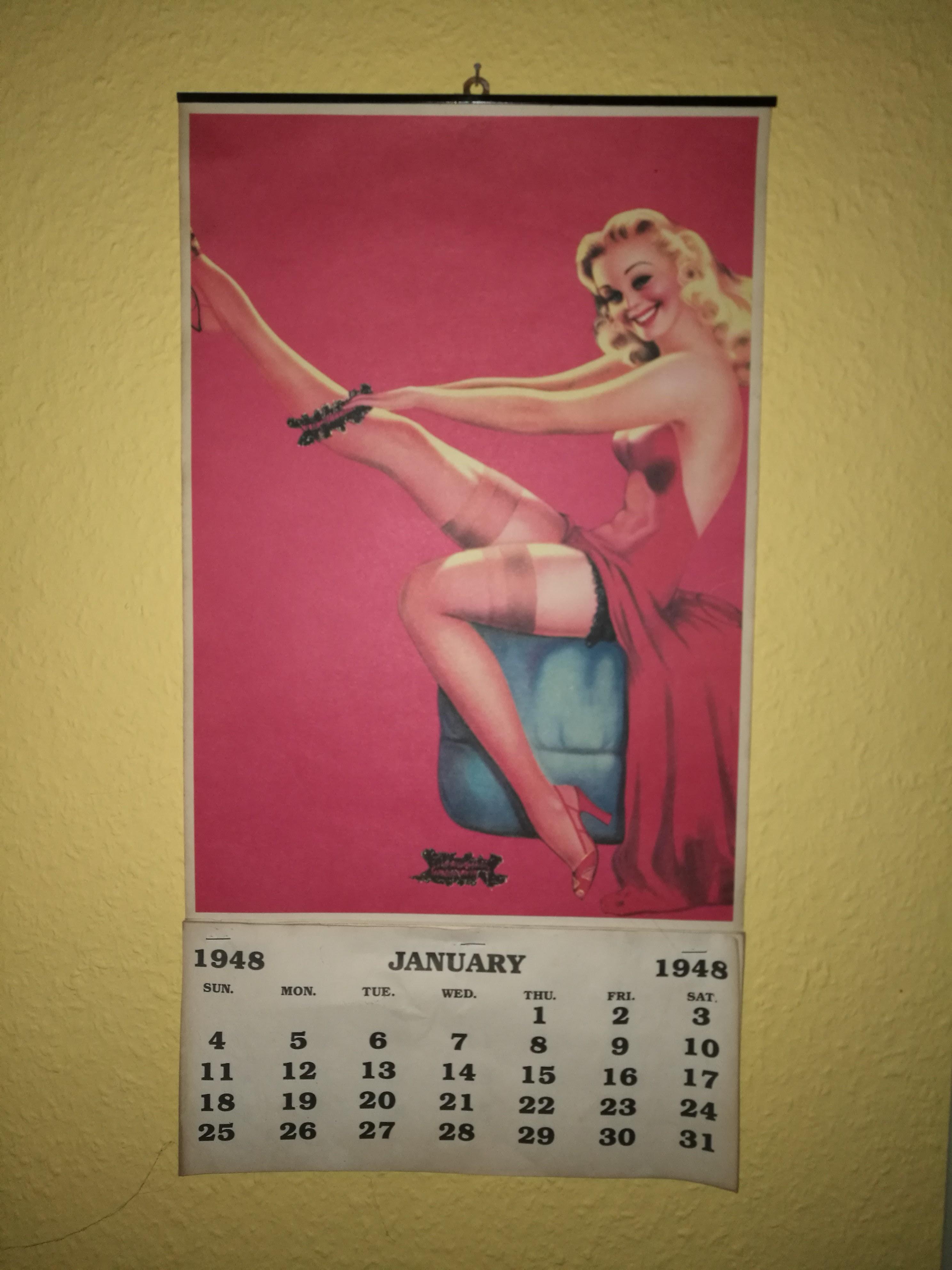 Pin-up Kalender
