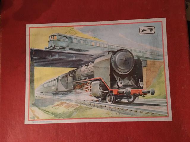Beckh Eisenbahnkarton