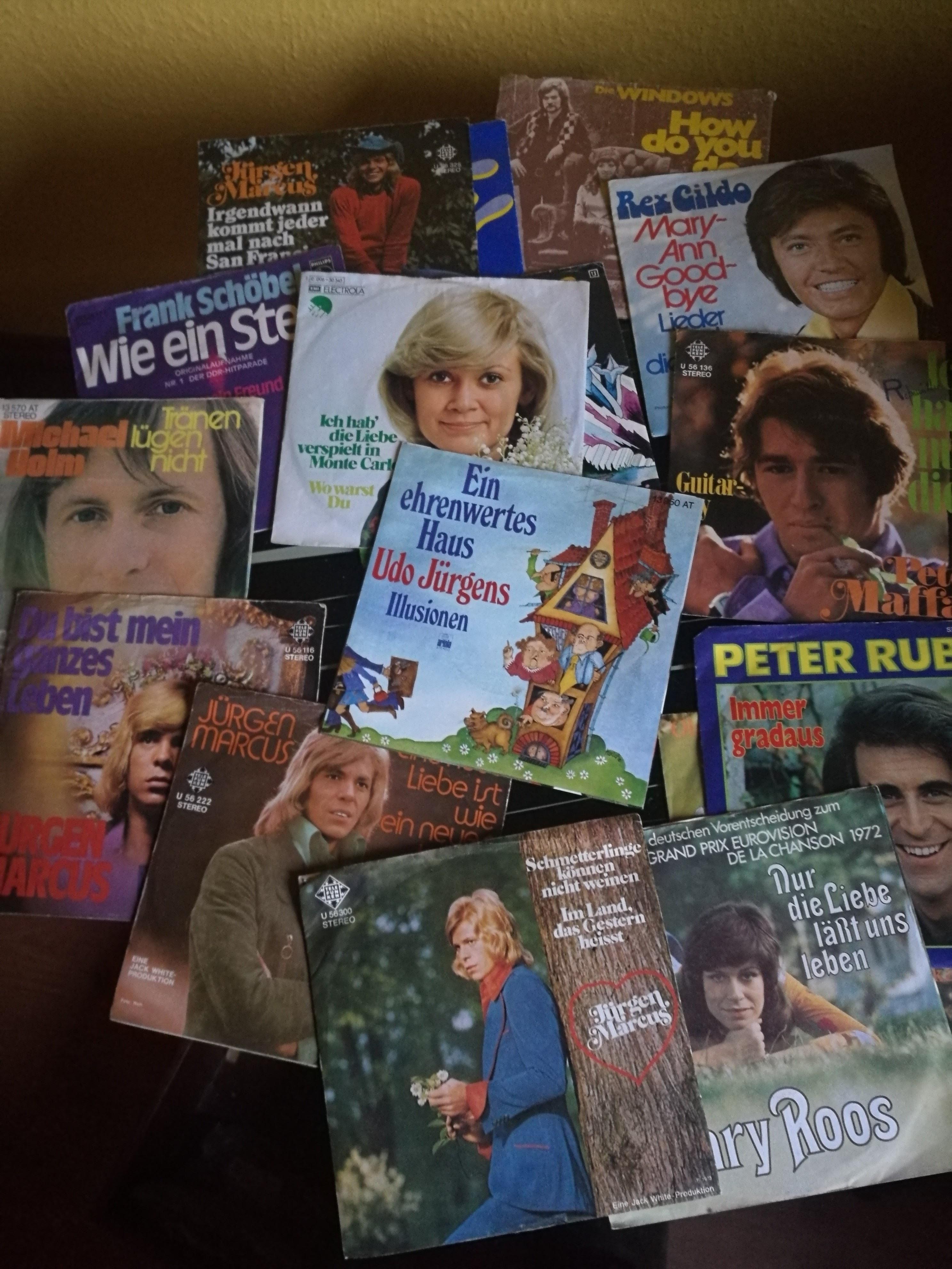 Schallplatten Singles 60er Jahre