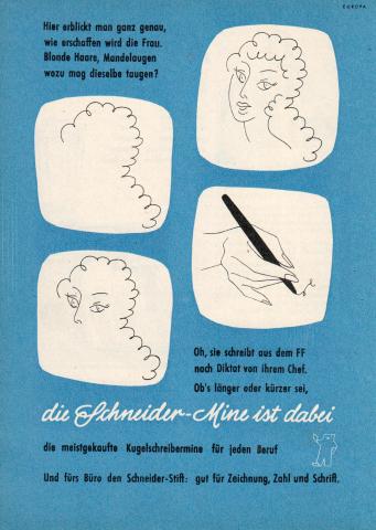 Schneider Kugelschreibermine von 1959